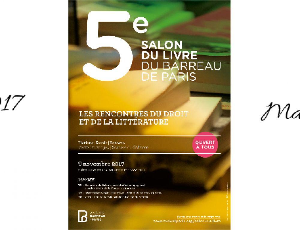 Salon du livre du Barreau – 9 novembre – 12h-19h
