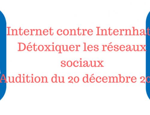 Respect Zone – Détoxiquer les réseaux sociaux – Internet contre internh@te