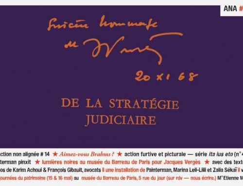 Action non alignée n°14 – Aimez-vous Brahms ? Hommage à Jacques Vergès