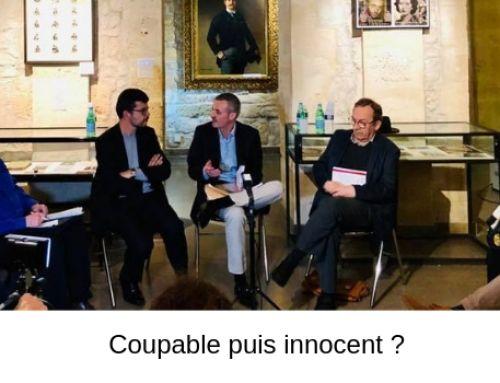 Coupable puis innocent ? – Audition du 14 mars – Les Nautes