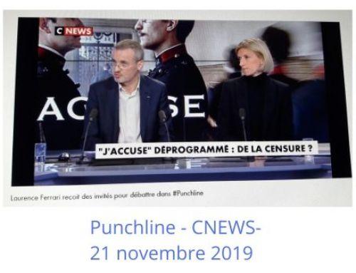 CNEWS – PUNCHLINE-Laurence Ferrari-21 novembre 2019
