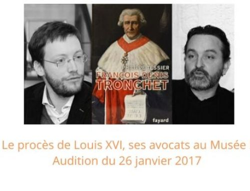 Procès de Louis XVI : ses avocats au Musée !