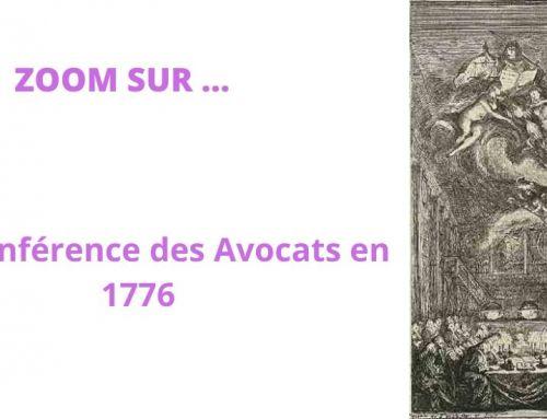 Zoom sur une conférence à la Bibliothèque des Avocats – Gabriel de Saint-Aubin