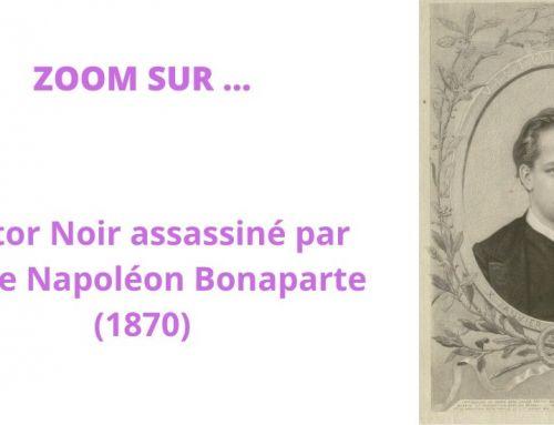 Zoom sur le meurtre de Victor Noir par Pierre Napoléon Bonaparte (1870)