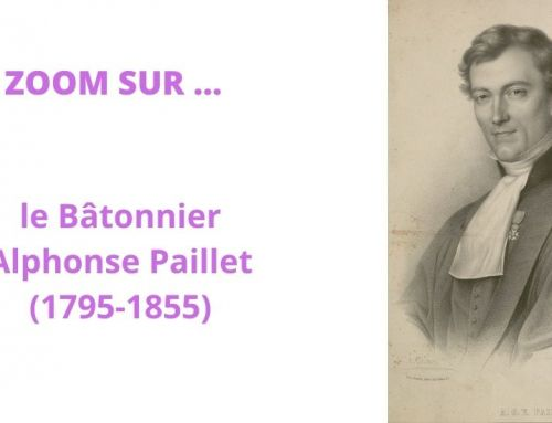 Alphonse Paillet (1795-1855), Bâtonnier