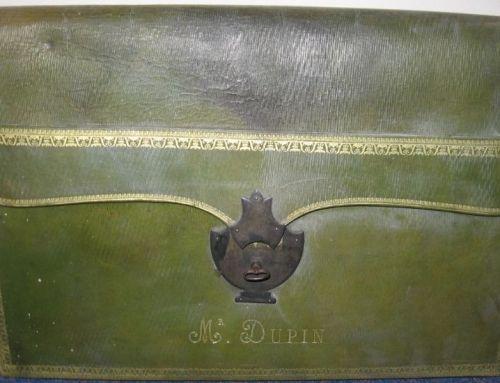 L'objet de la semaine : le portefeuille d'André Dupin