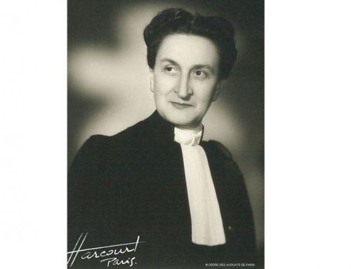 Zoom sur Juliette Veillier-Duray (1899-1984), 2e Secrétaire de la Conférence